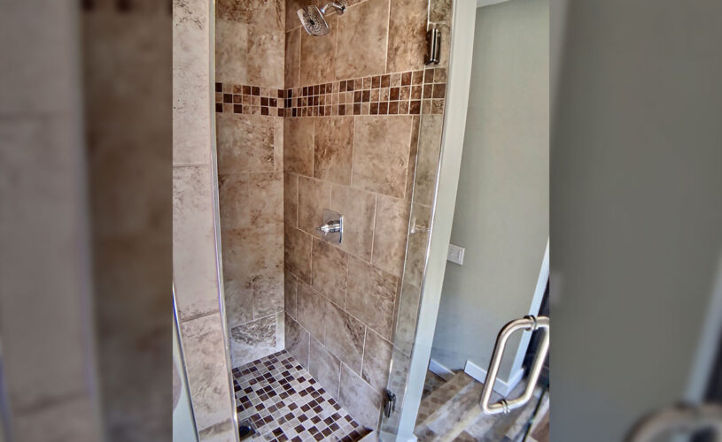 Basin Park Luxury Suites Walk-in Shower